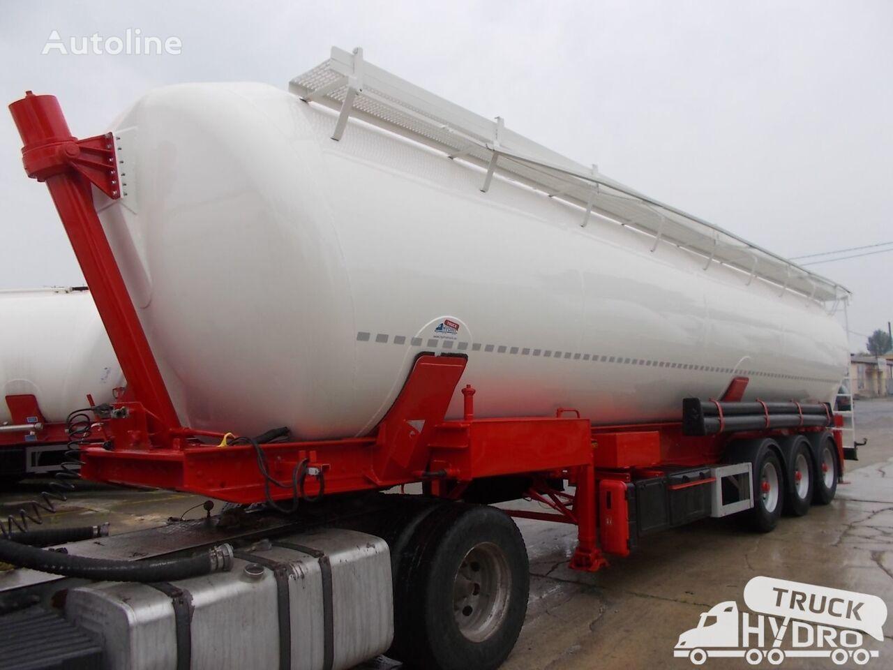SPITZER SK 2459 - Własna hydraulika HS24V cisterna silos