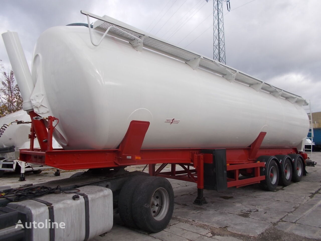 SPITZER SK 2760 CAL - NOWY LAKIER  cisterna silos