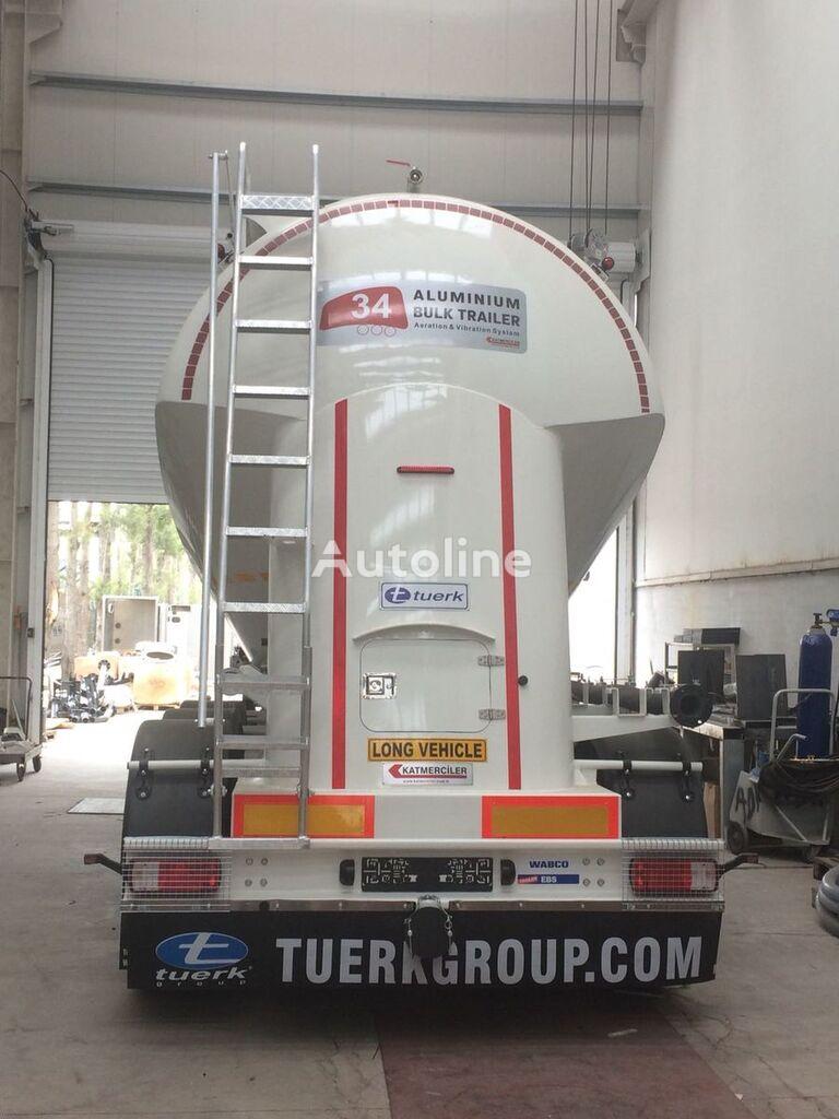 nova TUERK Aluminium Sylo (Cement, Flour ect.) cisterna silos