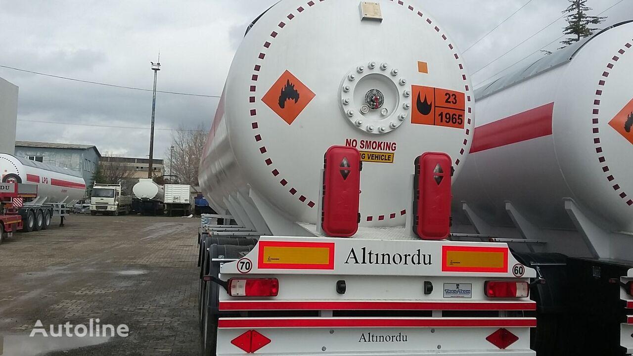 nova ALTINORDU PRODUCER SINCE 1972,3 AXLE 12 TYERS 60 M3 LPG ROAD TANKER cisterna za gas