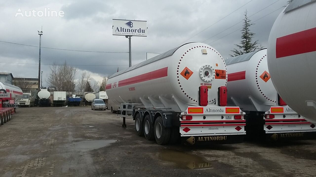 nova ALTINORDU PRODUCER SINCE 1972, 3 AXLE LPG TANK 60 M3 12 TYERS  cisterna za gas
