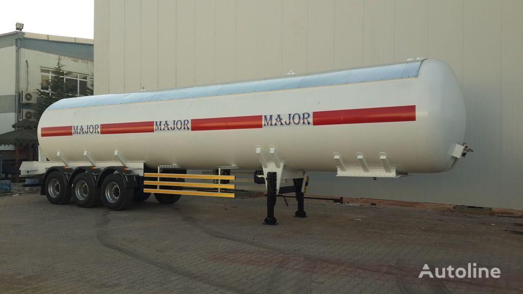 nova ALTINORDU PRODUCER SINCE 1972 ,3 axle 50 m3 LPG transport tanker cisterna za gas