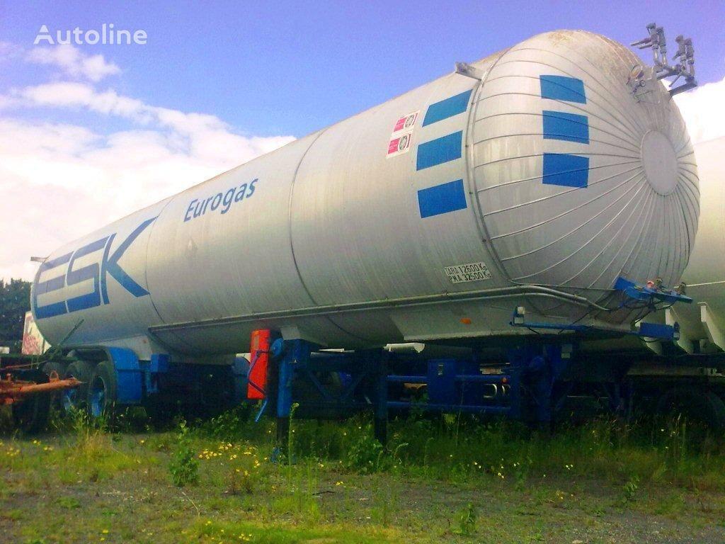 AUREPA LNG, Methane, Gas Tank, 45000 Liter, Natural gas, Air Liquide cr cisterna za gas