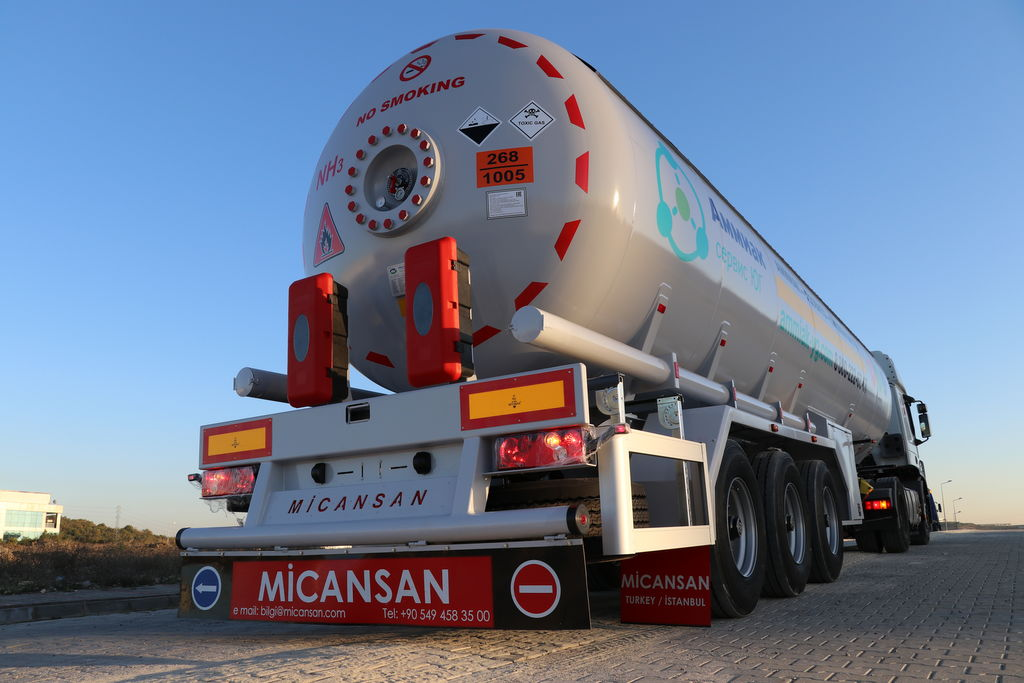 nova Micansan 2018 FOR RUSSIA 36 M3 READY FOR SHIPMENT EXCELLENT LPG TANK SEMI cisterna za gas