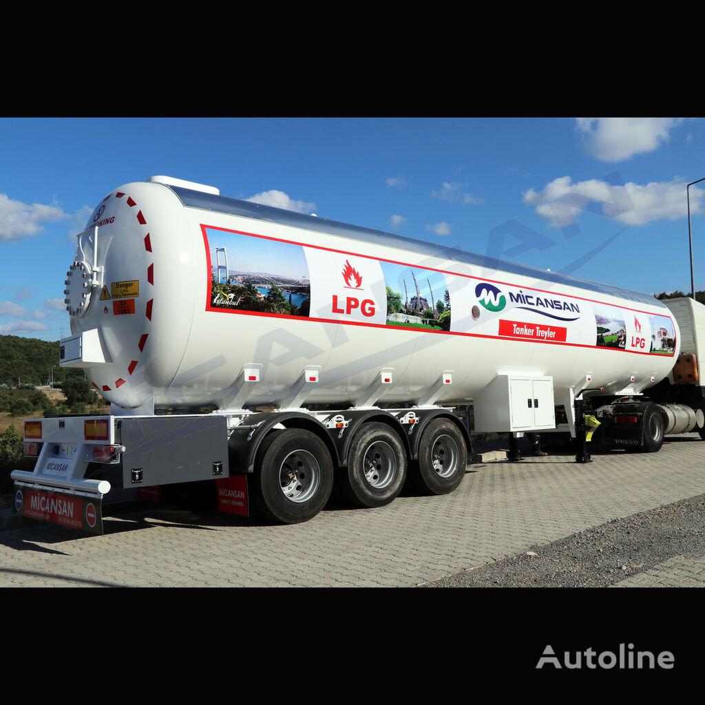 nova Micansan BIG DISCOUNT 2019 70 m3 AFRICA TYPE LPG TRAILER cisterna za gas