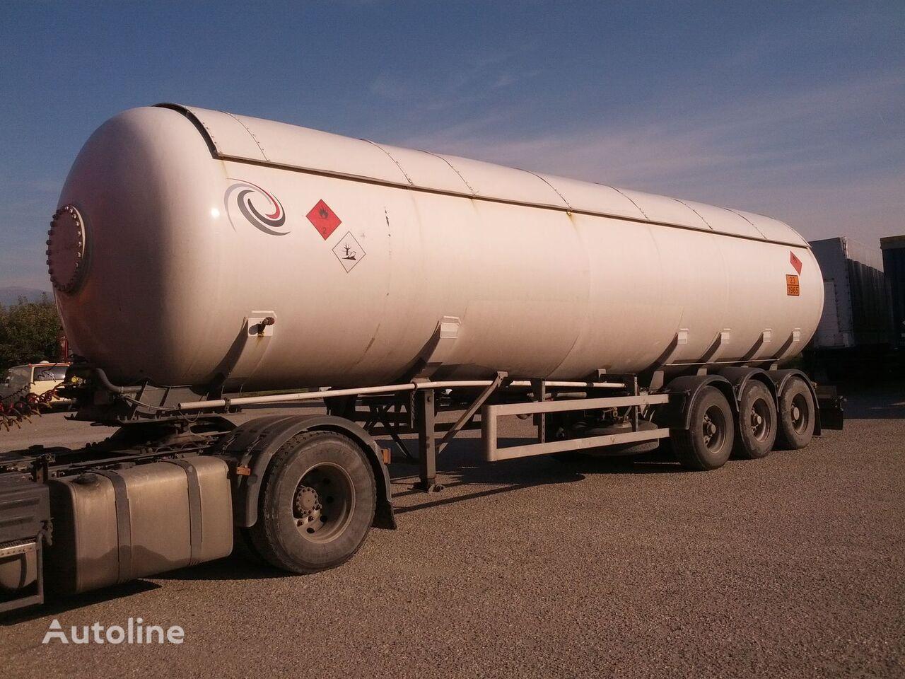 VAN HOOL cisterna za gas