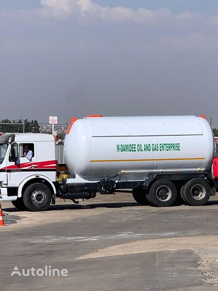 nova YILTEKS cisterna za gas
