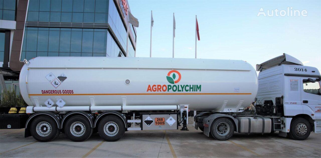 nova YILTEKS ADR AMMONIA SEMI TRAILER  cisterna za gas