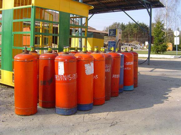 ZBA LPG cylinders PROPAN BUTAN cisterna za gas