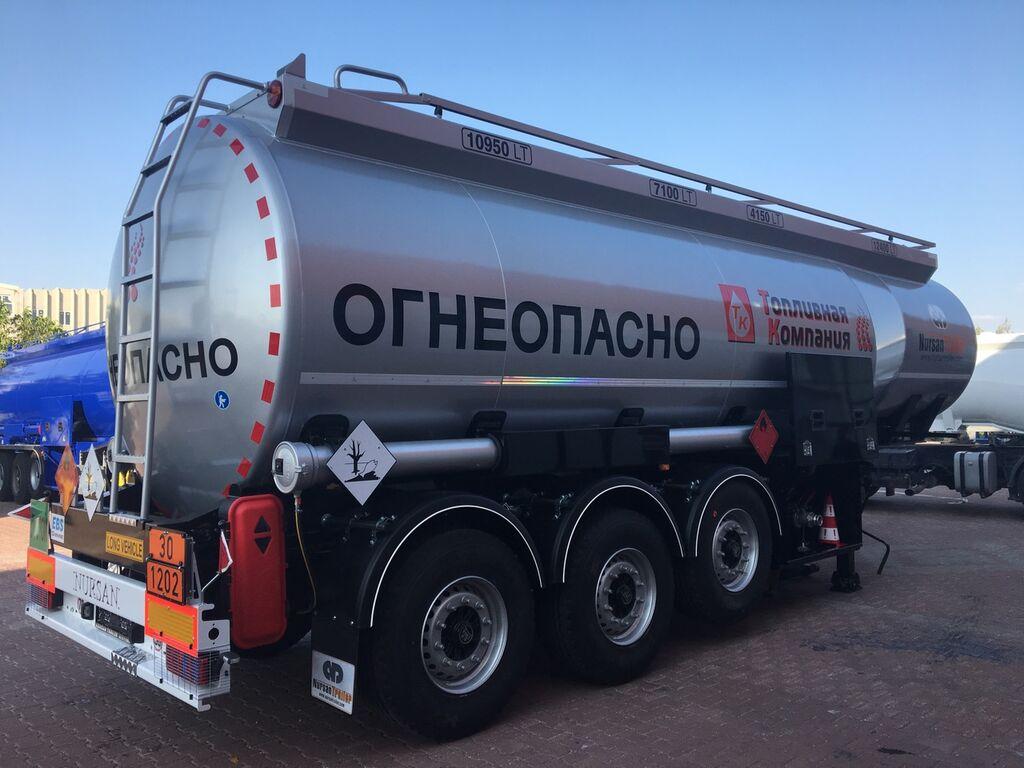 nova NURSAN cisterna za goriva i maziva