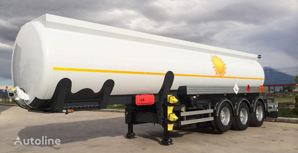 nova NURSAN alyuminievaya 32 m3 cisterna za goriva i maziva