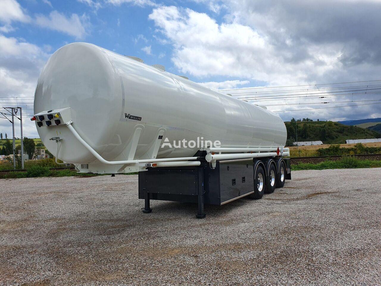nova WILLIG 3TSA cisterna za goriva i maziva