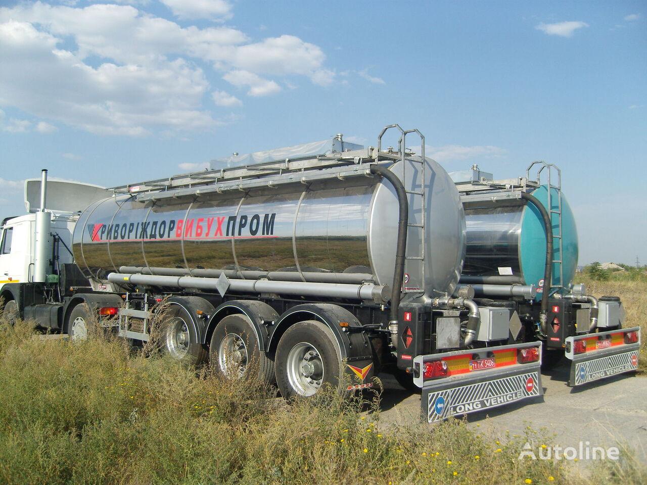nova EVERLAST cisterna za prijevoz hemikalija