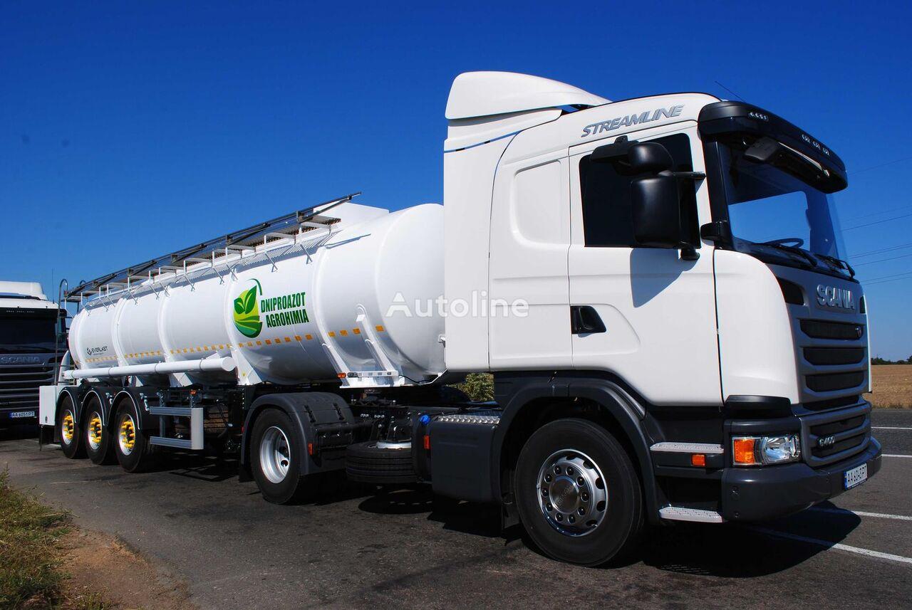 nova EVERLAST KASovoz cisterna za prijevoz hemikalija