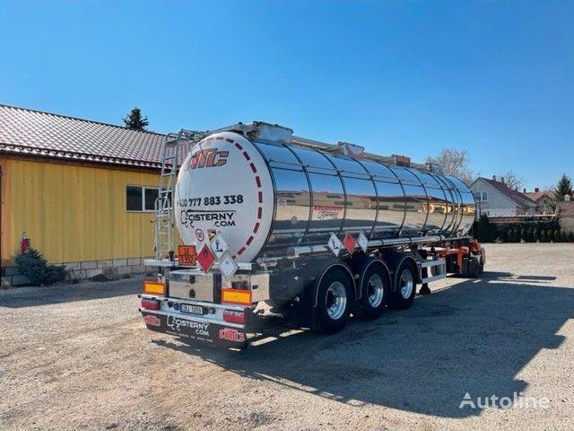 nova KASSBOHRER ADR L4BH  cisterna za prijevoz hemikalija