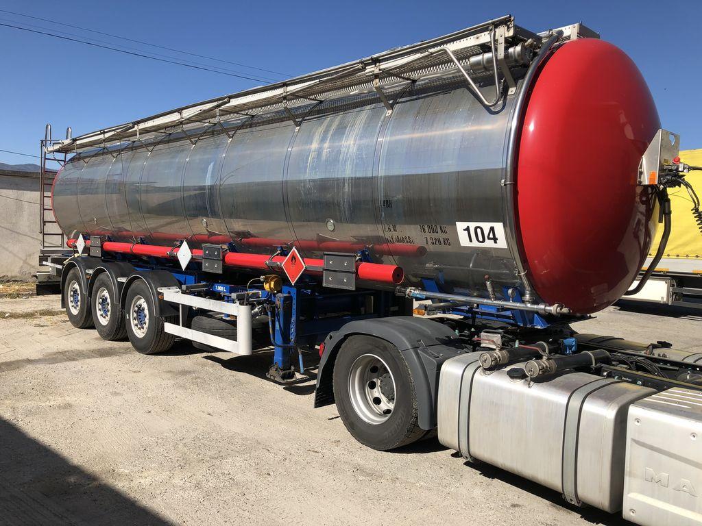 VAN HOOL L4BH cisterna za prijevoz hemikalija