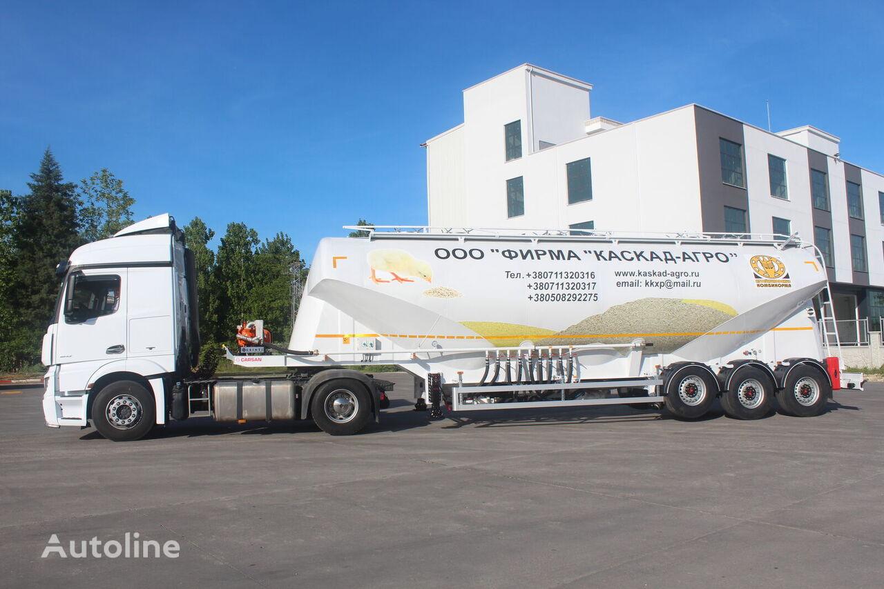 nova CARSAN cisterna za prijevoz hrane