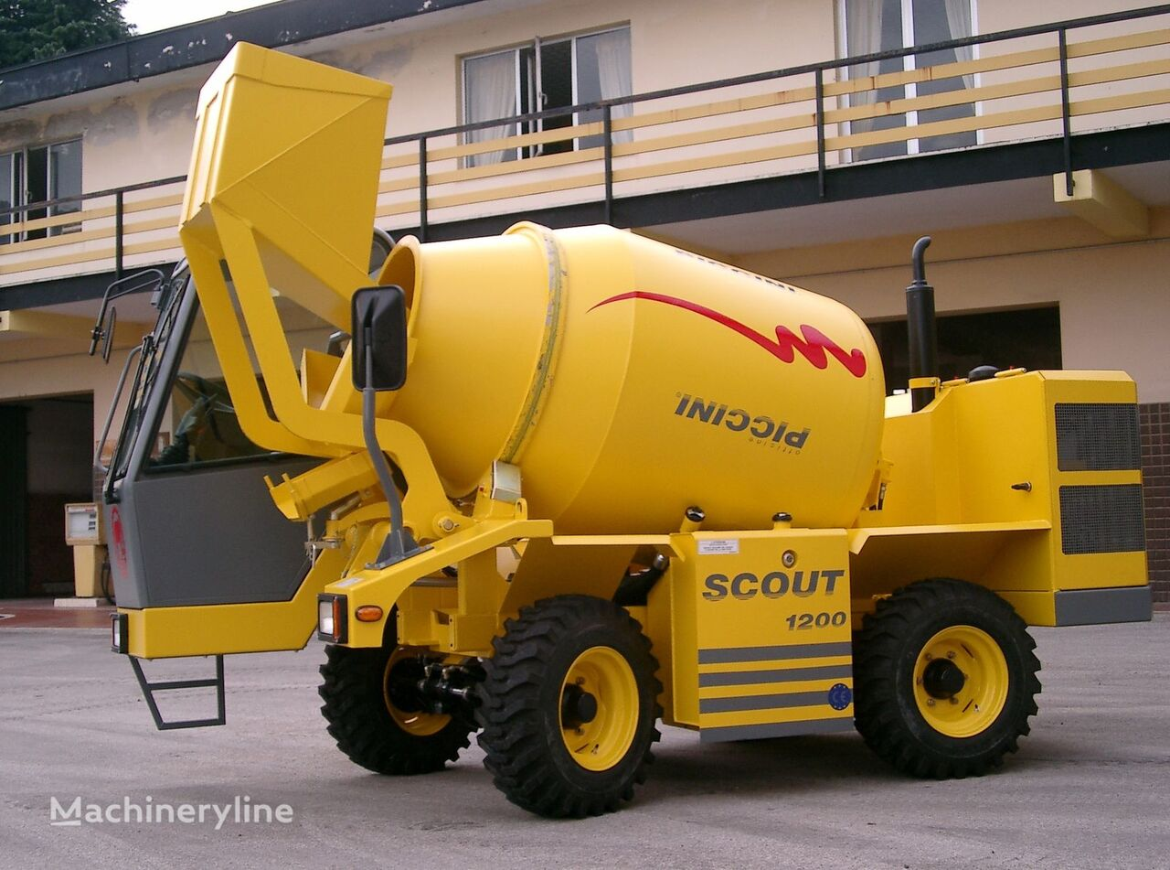 nova scout  1200 betonska mješalica