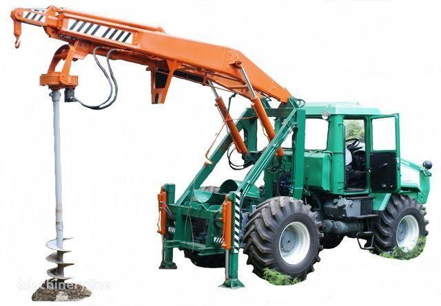 HTZ Burilno-kranovaya mashina BKM-3U na baze traktorov HTZ 150K-09, H druga građevinska oprema