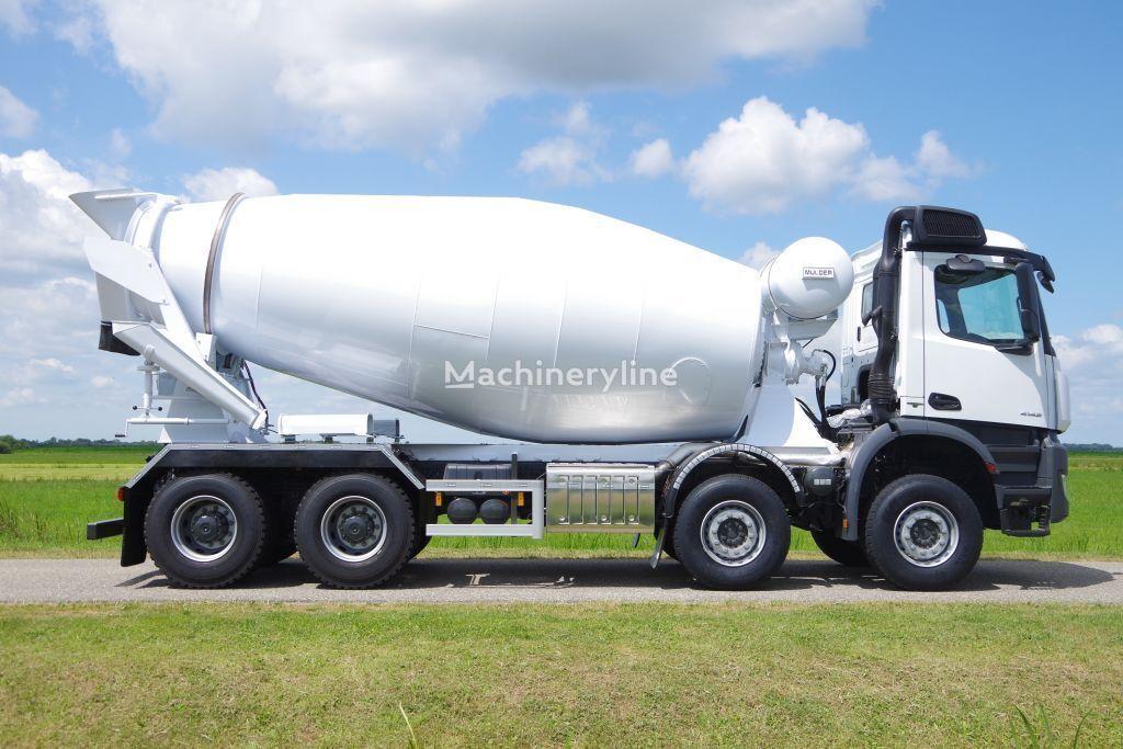 novi MERCEDES-BENZ Arocs 4142B & 12m3 MULDER mixer kamion s mješalicom za beton