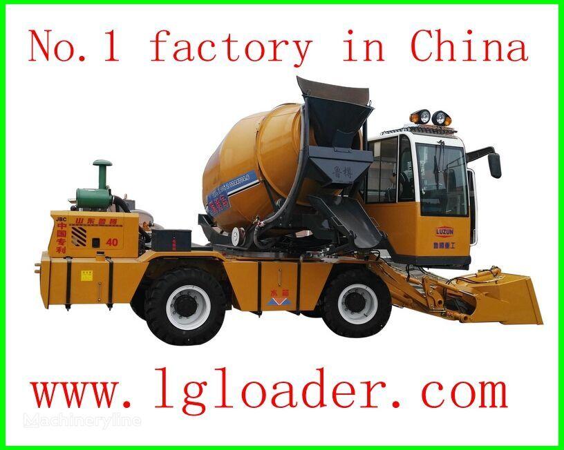 nova selfloading concrete mixer2 mašina za obilježavanje puteva