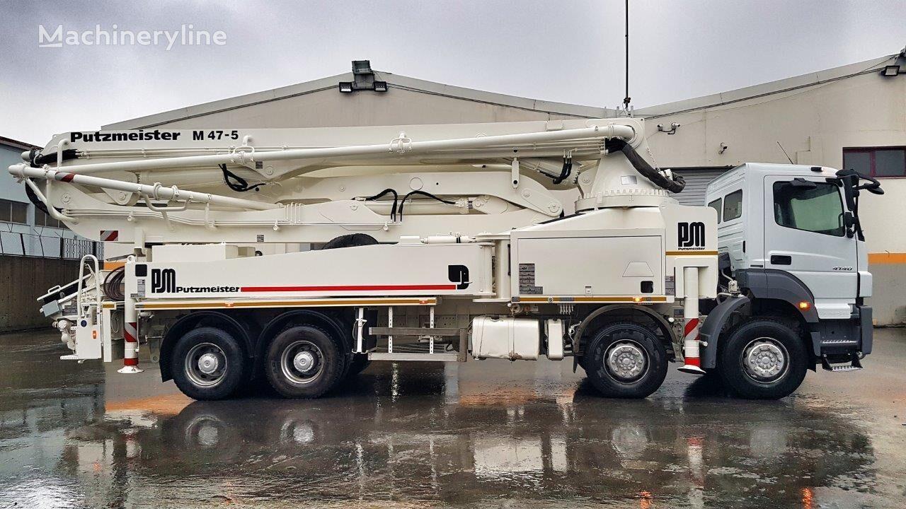 MERCEDES-BENZ Axor 4140 8x4 - Putzmeister 47 - 2200 WORKING HOURS  pumpa za beton