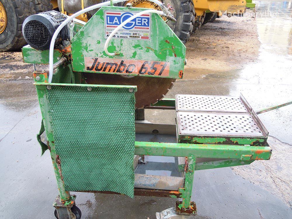 JUMBO 651 sjekačica asfalta