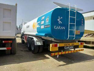 HOWO 6x4 Aluminium Compartments Fuel Tank Truck autocisterna za gorivo