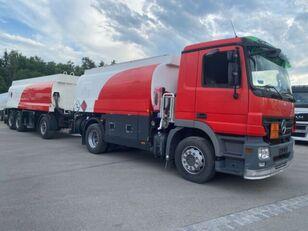 MERCEDES-BENZ 1844. 1846 Tankwagen 13050L autocisterna za gorivo + cisterna za goriva i maziva