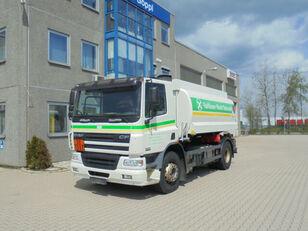DAF CF75.310 ROHR 13.500L 2 Kammern Heizöl Diesel autocisterna za gorivo
