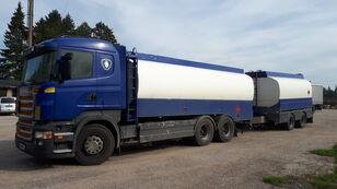 SCANIA R420 6x2 fuel tank autocisterna za gorivo + cisterna za goriva i maziva