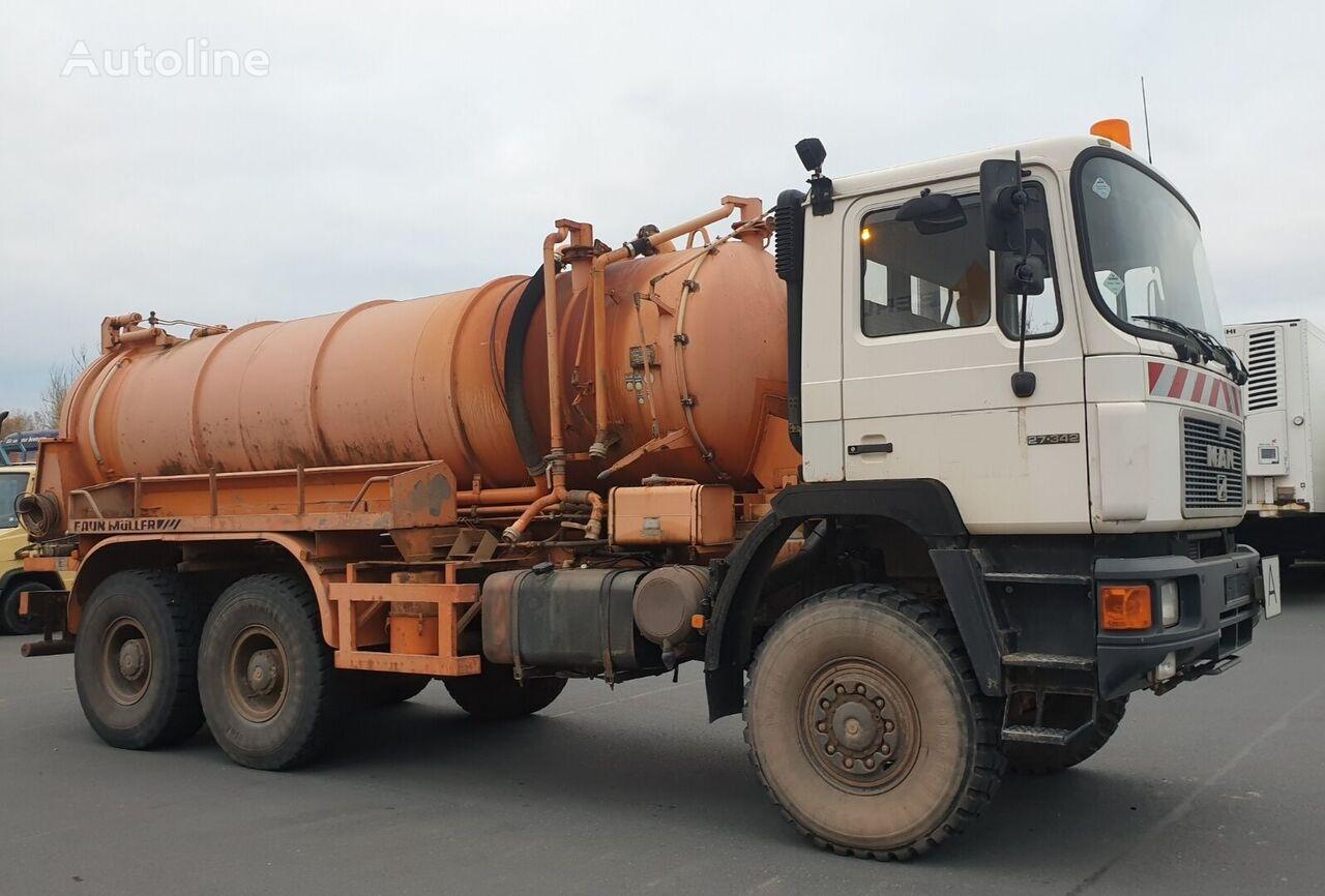 MAN 27.342 6x6 Wasserwagen Water Truck autocisterna