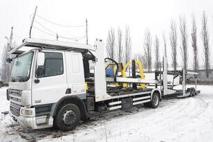 DAF CF 75 360 , E5 , 4x2 ,MEGA , LOHR , retarder , sleep cab  autotransporter + prikolica autotransportera