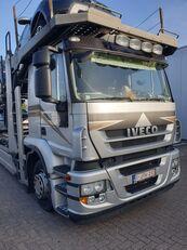 IVECO Stralis 400 autotransporter + prikolica autotransportera