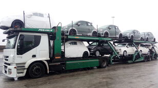IVECO STRALIS 450 autotransporter + prikolica autotransportera