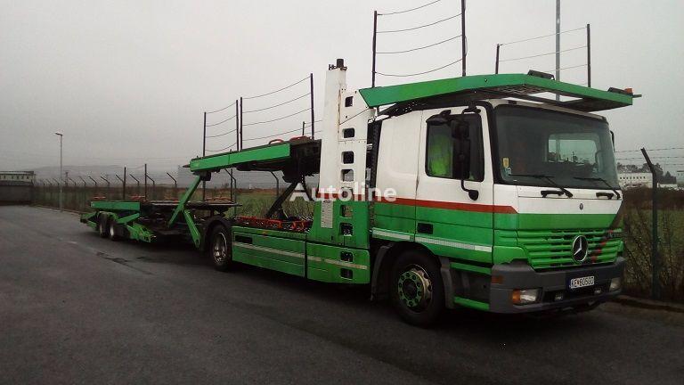 MERCEDES-BENZ Actros 1835L autotransporter + prikolica autotransportera