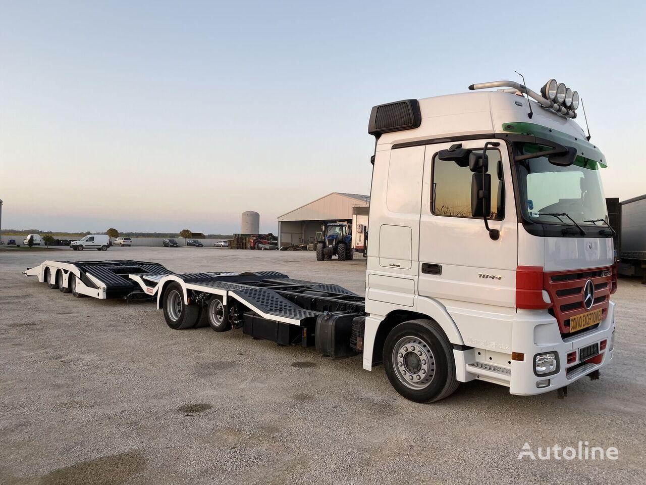 MERCEDES-BENZ Actros 1841L LKW-Truck transporter autotransporter + prikolica autotransportera