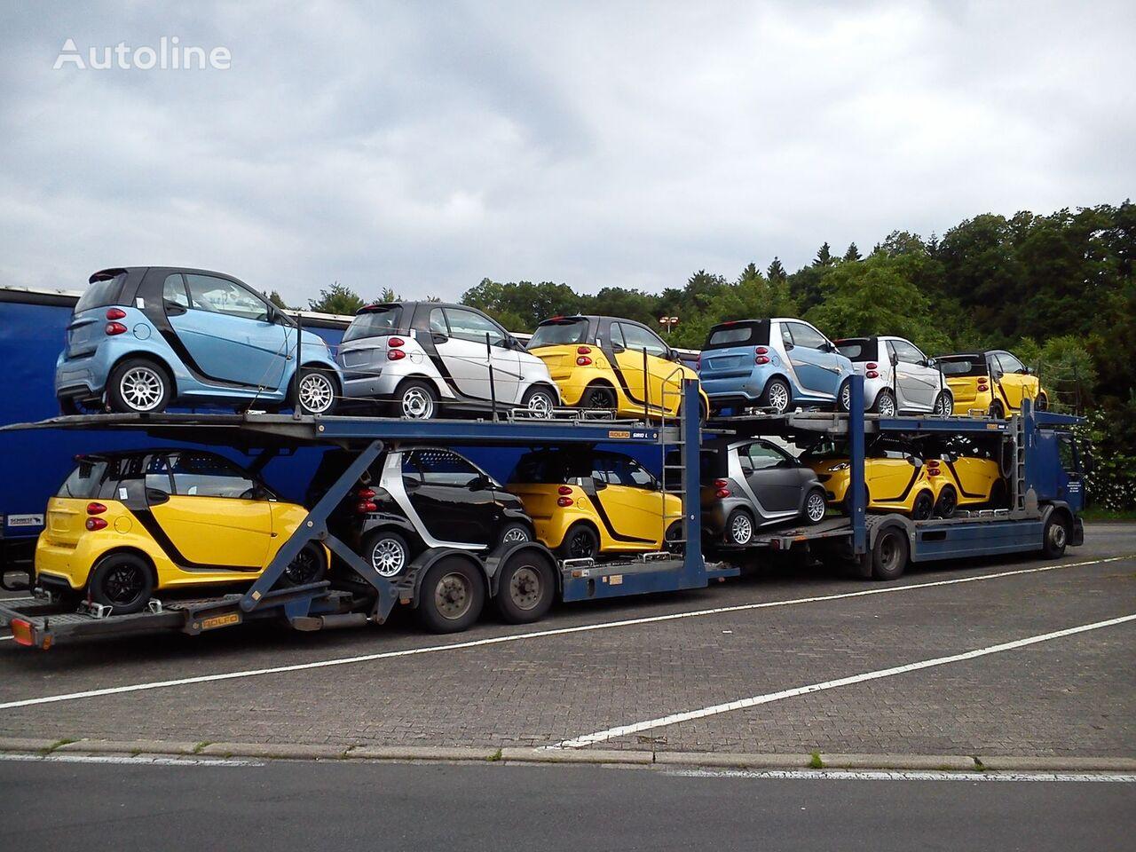 RENAULT premium 410.18 autotransporter + prikolica autotransportera