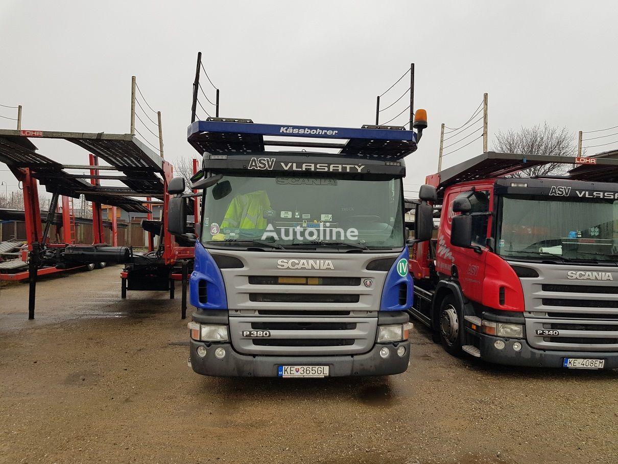 SCANIA P380 autotransporter + prikolica autotransportera
