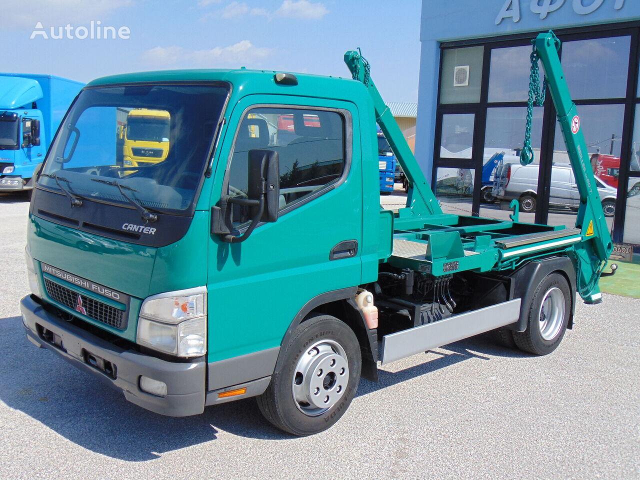 MITSUBISHI FUSO CANTER FE85 kamion autopodizač kontejnera