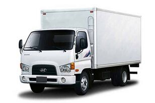 novi HYUNDAI HD78 промтоварный фургон kamion furgon