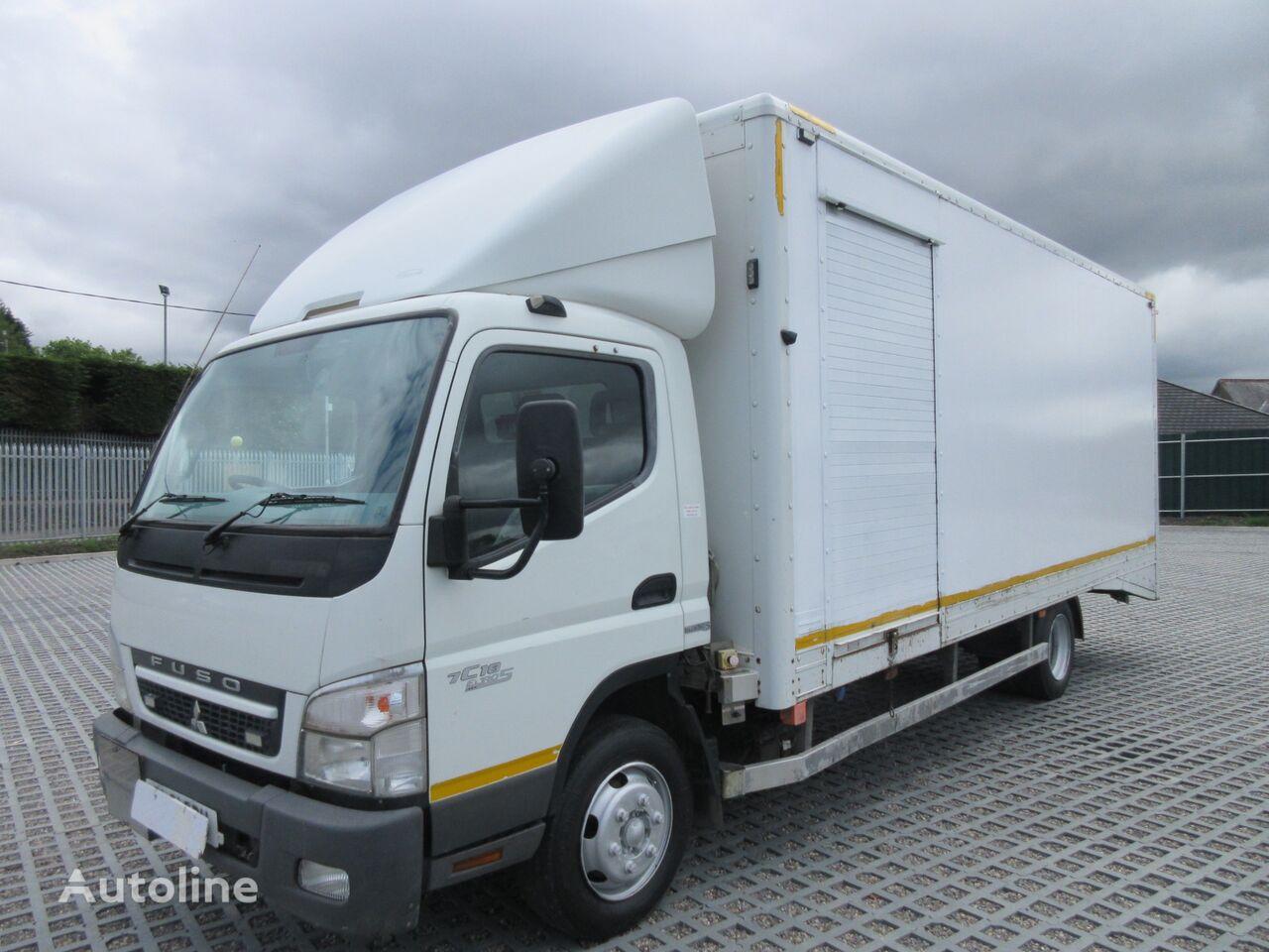 MITSUBISHI CANTER 7C18 FUSO 4X2 7.5TON BEAVERTAIL BOX VAN C/W ROLLER SHUTTE kamion furgon