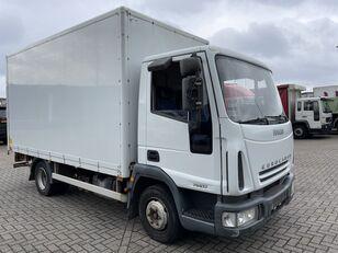 IVECO EuroCargo 75 E17 bakwagen plus laadklep kamion furgon