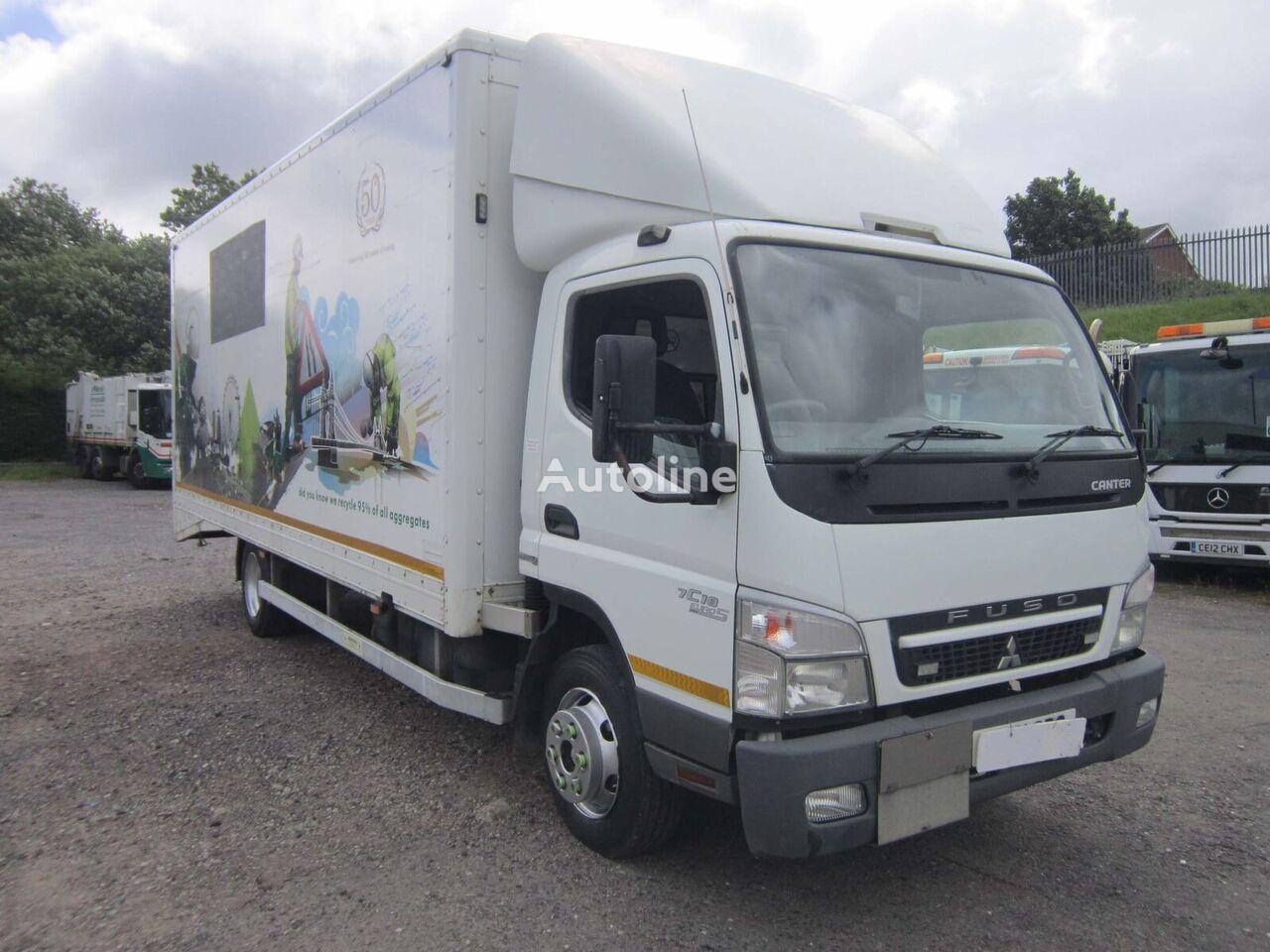 Mitsubishi Fuso CANTER 7C18 4X2 7.5TON BOX VAN C/W ROLLER SHUTTER DOORS kamion furgon