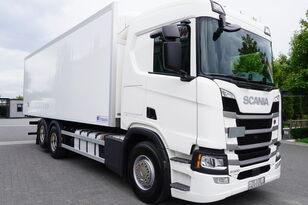 SCANIA SCANIA R500, Euro 6, 6x2, 19 EPAL refrigerator , lifting axle, N kamion hladnjača
