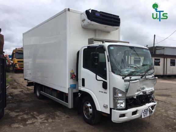 ISUZU N75 190 BREAKING kamion hladnjača po rezervnim dijelovima
