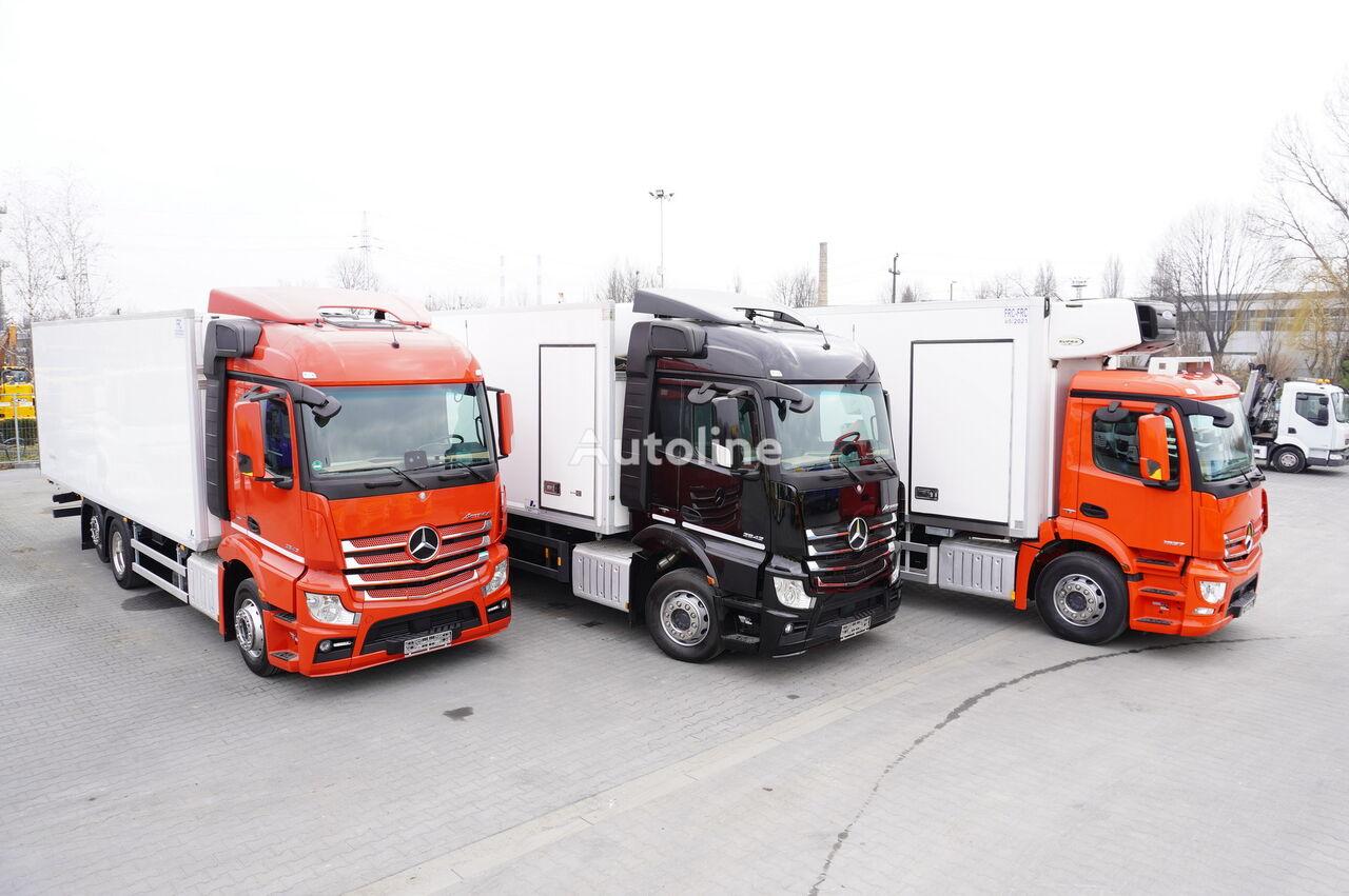 MERCEDES-BENZ Actros 2542 , 2543 , 2545 , 18-22 EPAL , 20 Refrigerator trucks  kamion hladnjača