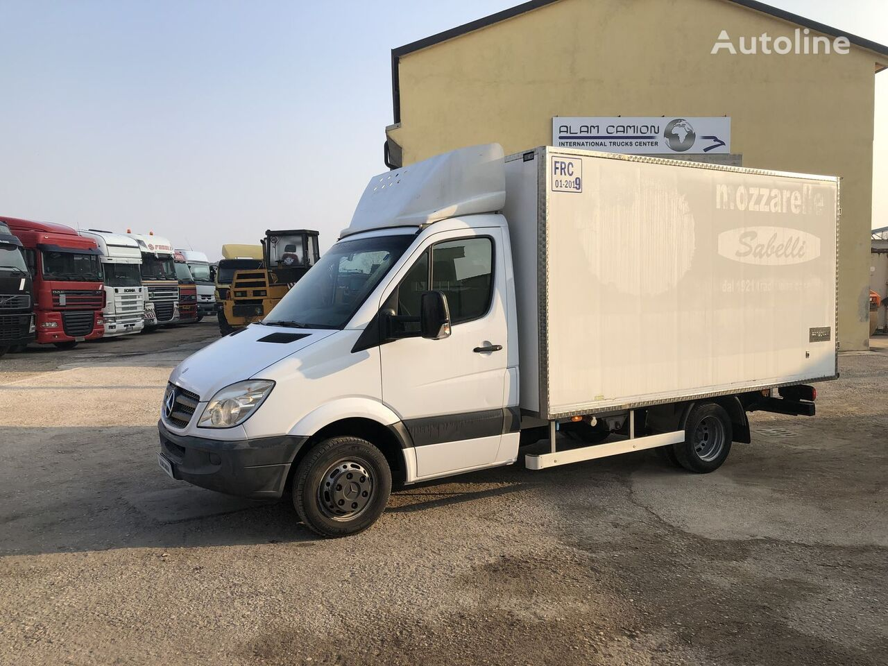 MERCEDES-BENZ Sprinter 516 kamion hladnjača