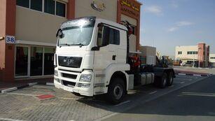 MAN TGS 26.440 6×4 Hook Loader + ATLAS 165 Crane 2011 kamion rol kiper