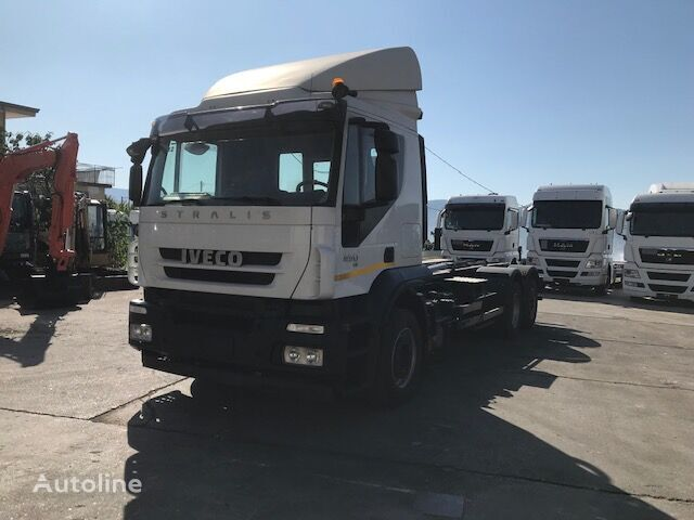 IVECO STRALIS AT260S45 (PM 796) kamion rol kiper